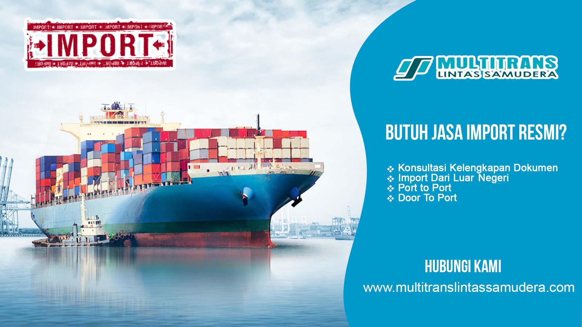 Jasa Import Malaysia ke Indonesia